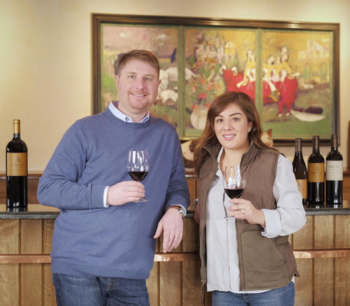 HST Winemakers-Daniel_Wampfler_Amy_Alvarez-Wampfler-Abeja.jpg