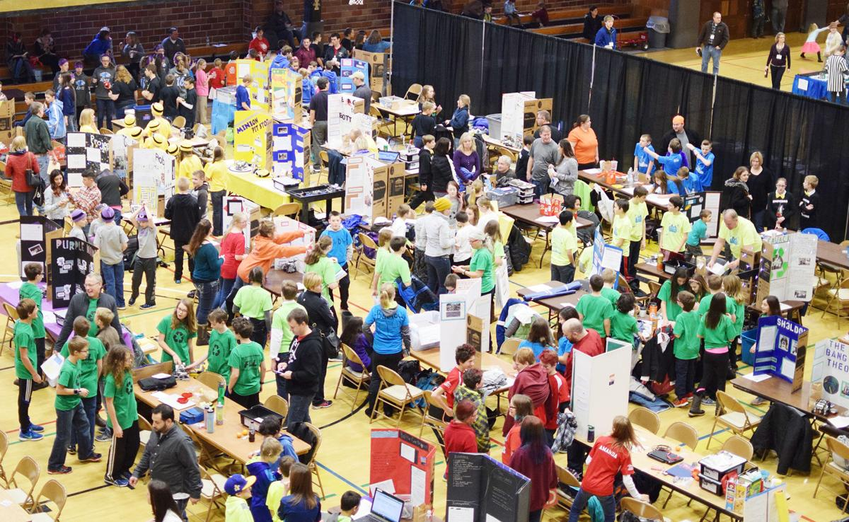 Idaho 4-H members participate in a robotics competition
