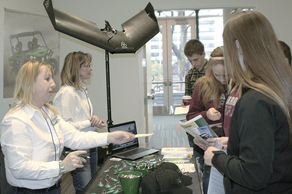Career fair spotlights ag opportunities for youth