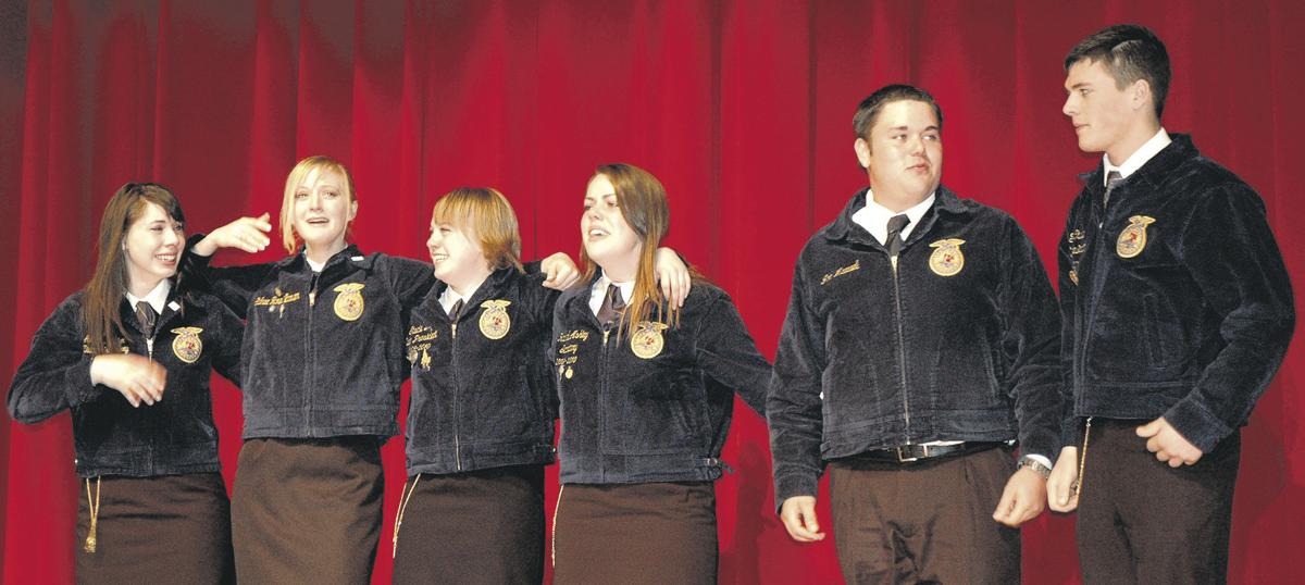 FFA leaders rally around 'power' of ag