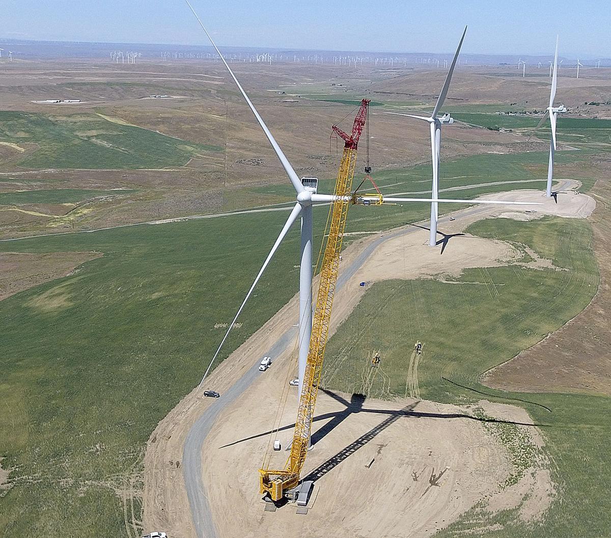 Wind turbines 20