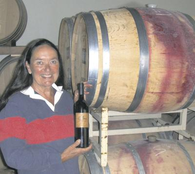 Napa vintner shatters glass ceiling