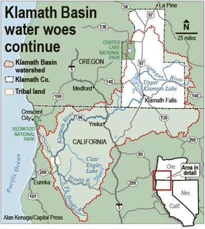 Klamath water users argue tribes' lawsuit filed in wrong court