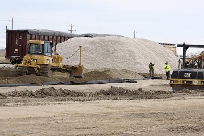 Rail yard expansion