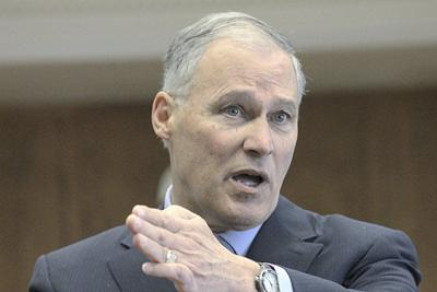 Inslee vows to stay the course on climate change