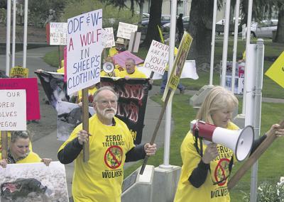 Protesters demand 'Zero Tolerance'