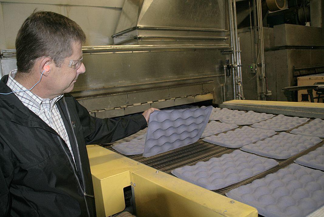 Companies ramp up apple tray production