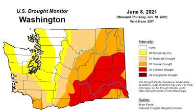 washington extreme drought