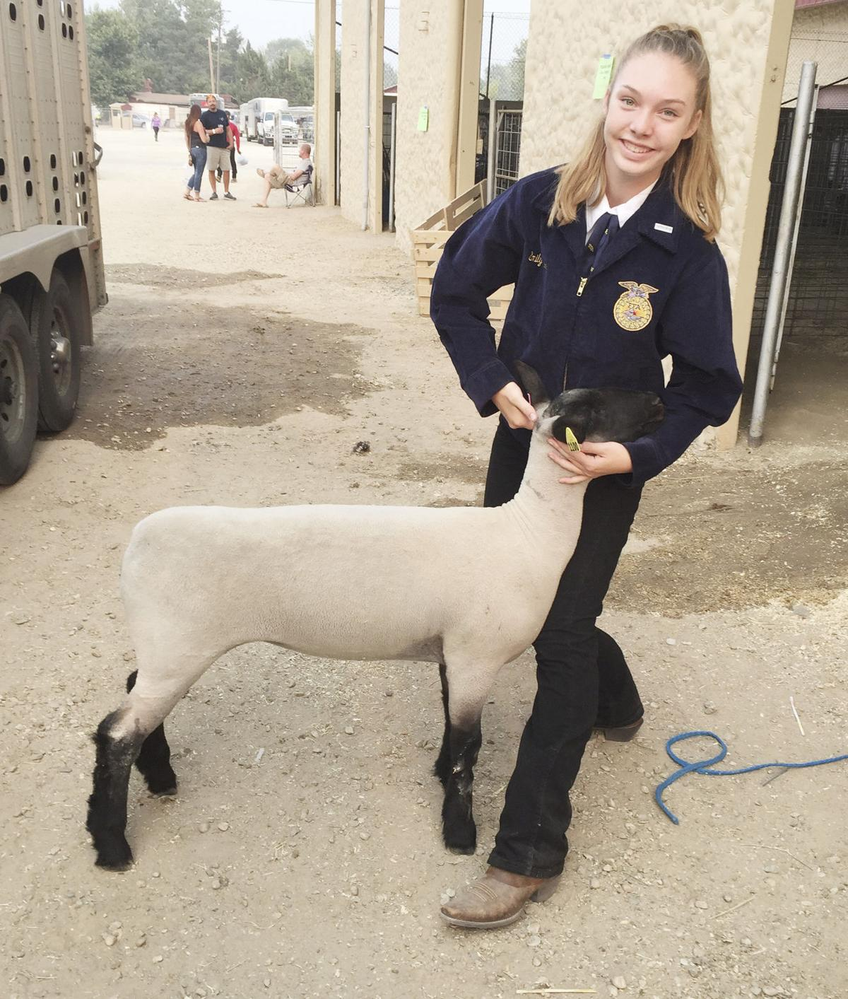 Meridian FFA goes to the fair(s)