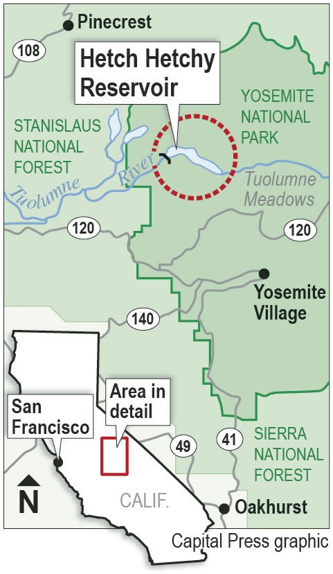 Water districts fret over Hetch Hetchy dam removal proposal