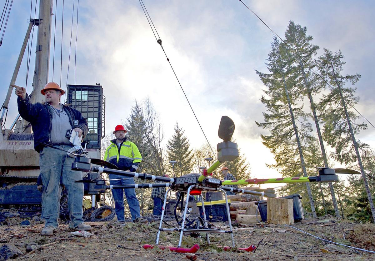 Drones and logging