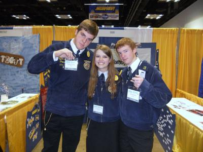 Idaho FFA Hall of States Booth