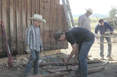 Barn renovation brings family together