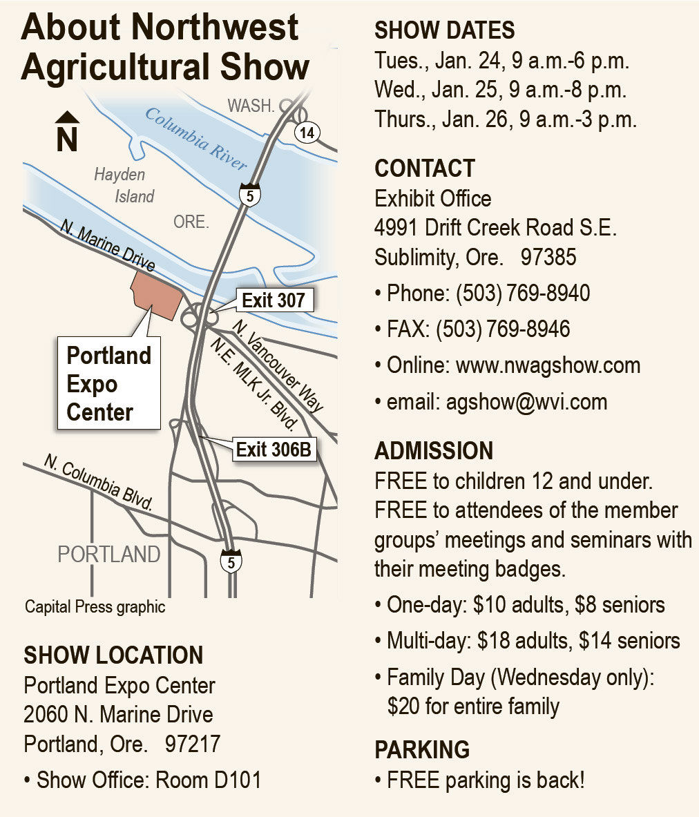 Northwest Ag Show offers everything today's farmer needs