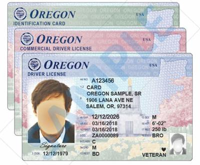Oregon driver's license