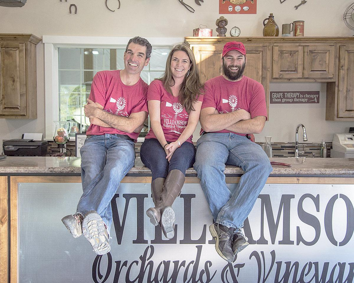 Family makes switch from tree fruit to vineyards