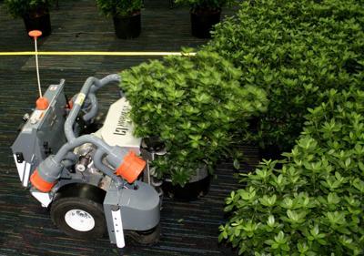 Robots go to work at nurseries