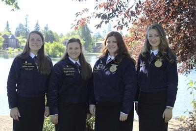 Oregon FFA Ambassadors