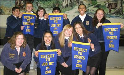 Chelan, WA FFA compete at District VII FFA Agriculture Issues Forum