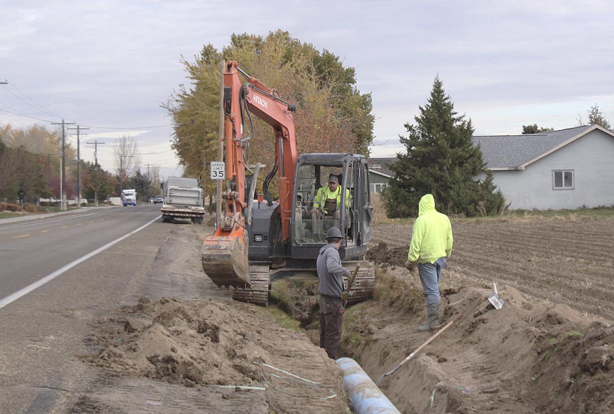 Irrigation district construction season hits stride