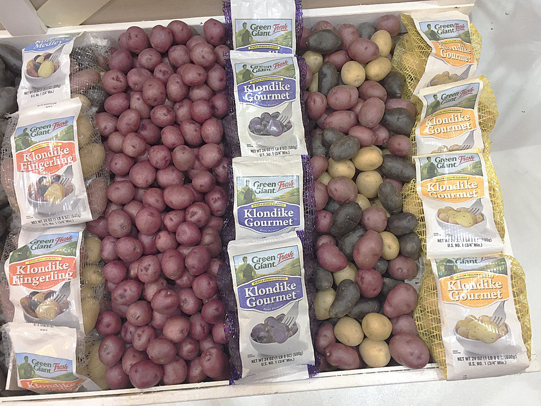 Low-carb spud latest innovation in fresh potato category