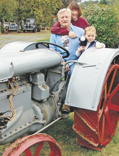 Old tractor collection recalls steel-wheel era