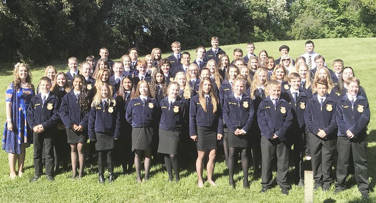 Goldendale FFA chosen for national competition