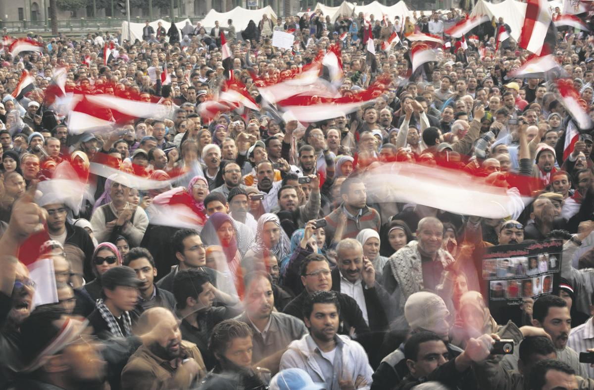 Egyptian uprising alarms exporters