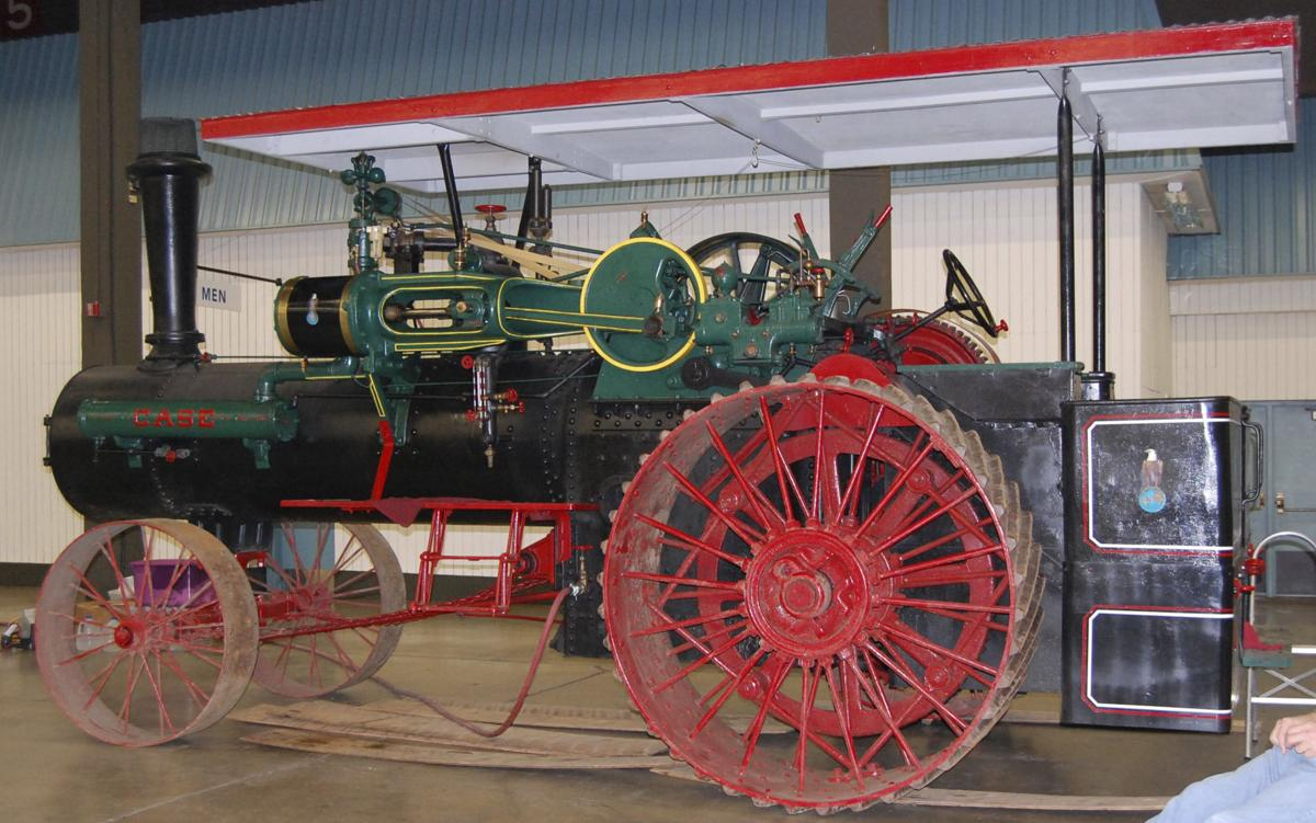 Antique equipment evokes good old days