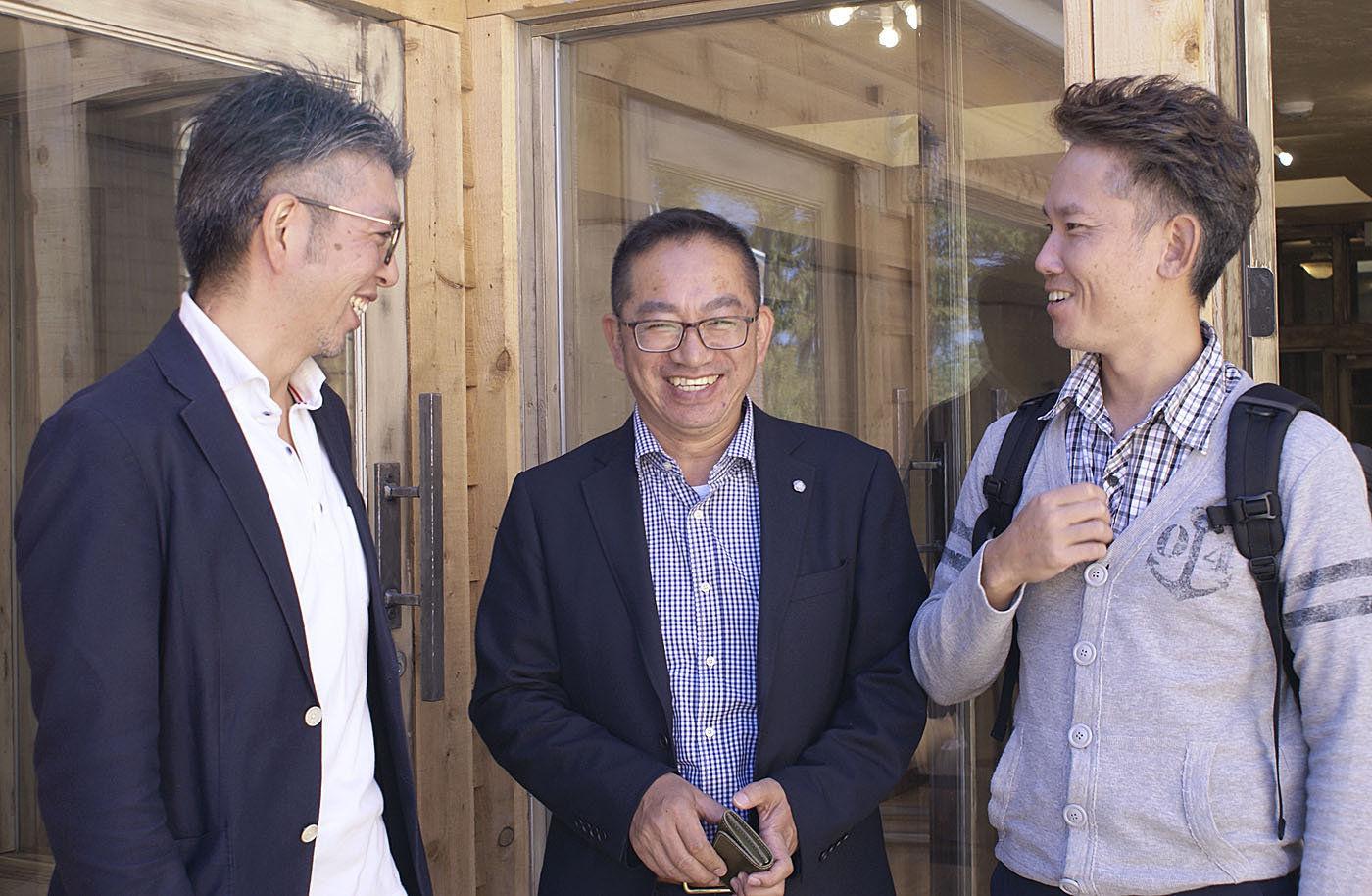 Japanese businessmen