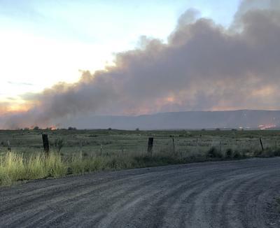 Grant Co. wildfire