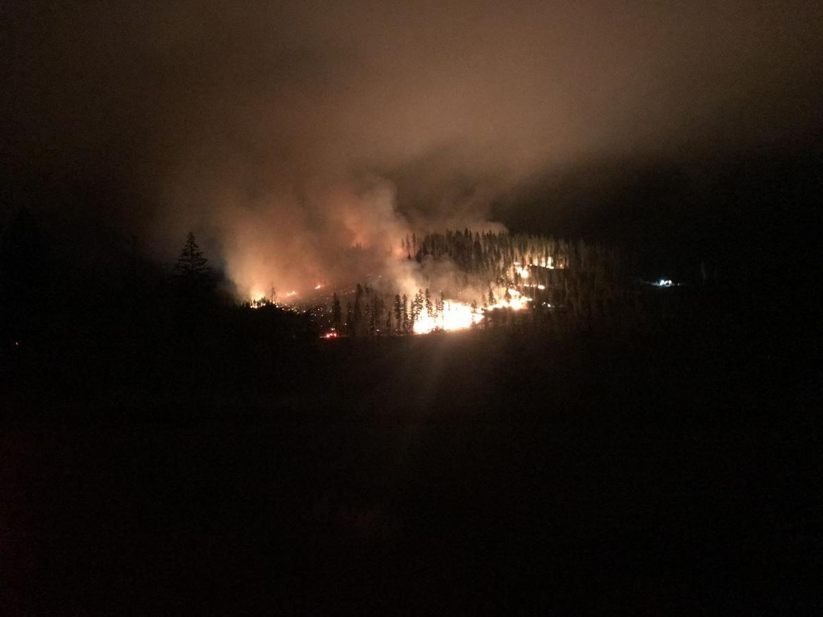 Mica Creek Fire