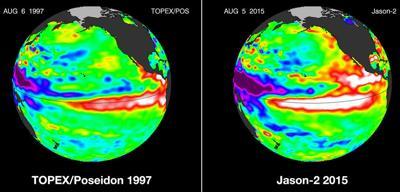 Ocean temperatures rise, boosting odds of El Nino ahead