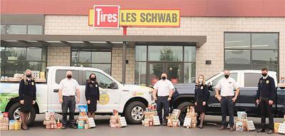 FFA Schwab food drive