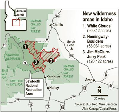 Sawtooth Wilderness becomes law