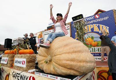 1,910-pound pumpkin wins annual weigh-off