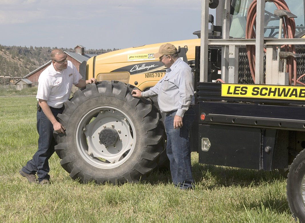 How to maintain ag equipment tires