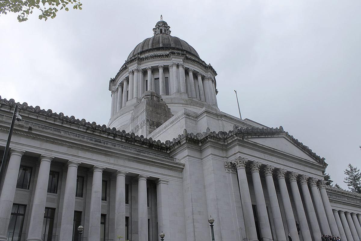 The Washington State capitol building