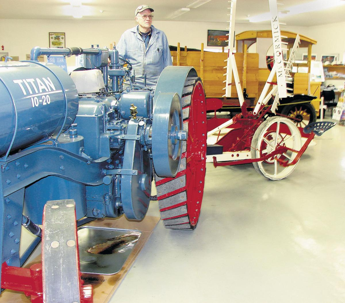 Old-time equipment shines in spotlight