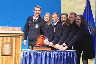 National FFA Officer team includes two reps from the West