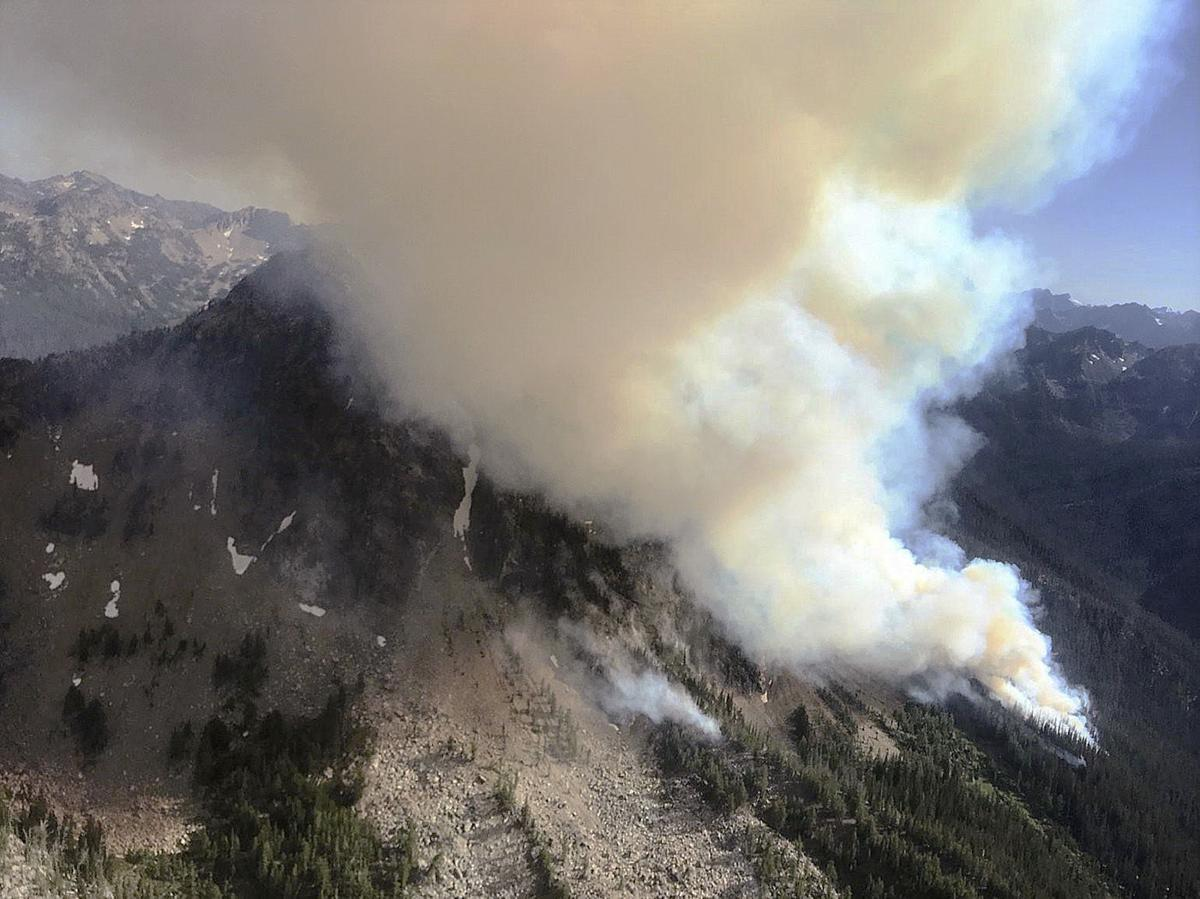 Devore Creek Fire