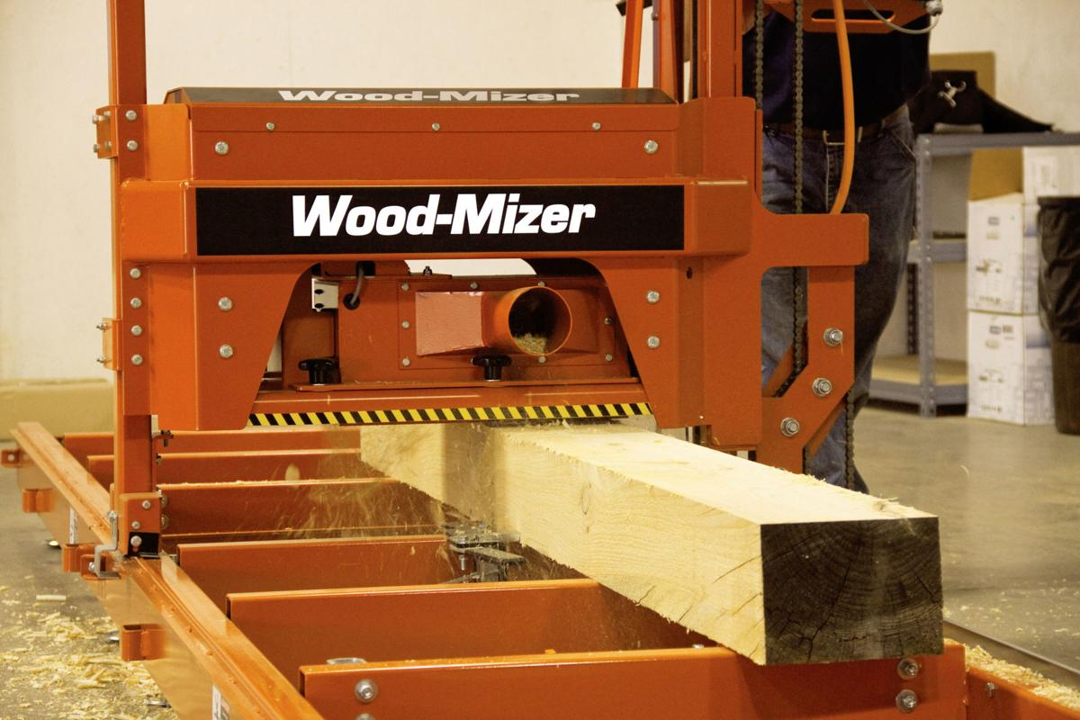 Wood-Mizer Releases MP100 Log Moulder/Planer