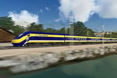 California's planned high-speed train