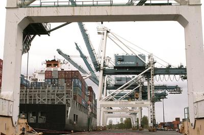 Weekly container service to resume