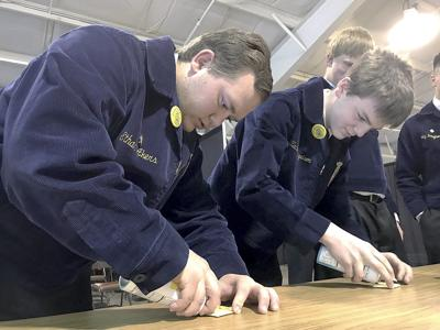FFA members use downtime to test skills
