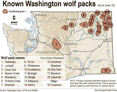 NE Washington county takes 'defensive' posture toward wolfpack