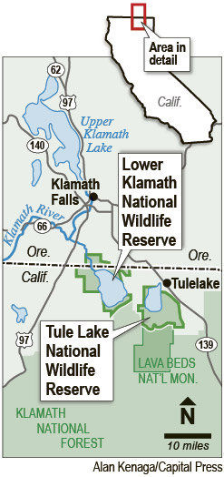 Irrigators file lawsuit over Klamath refuge restrictions