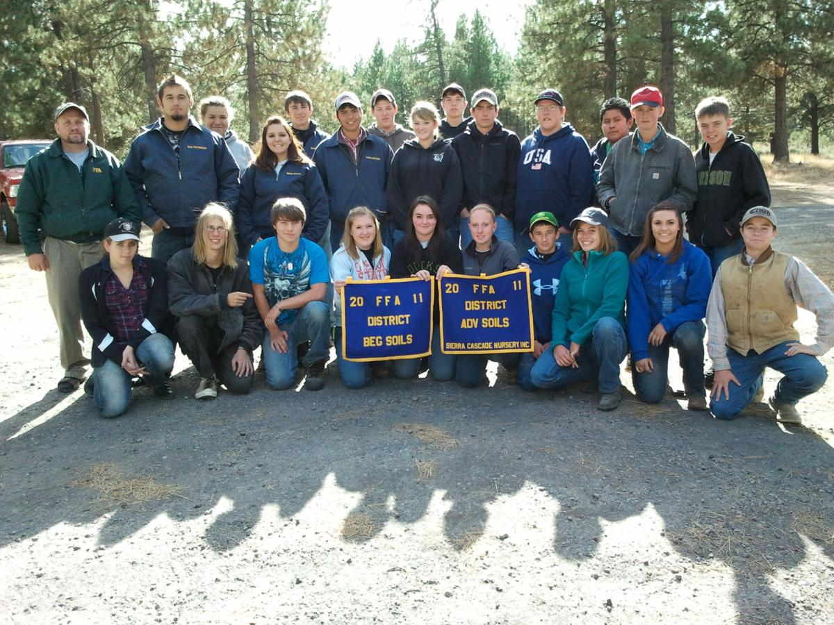 North Lake FFA continues to succeed in the District Soils Contests