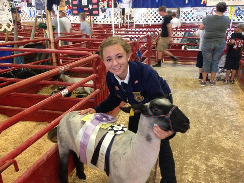 Meridian FFA members compete at Canyon County Fair