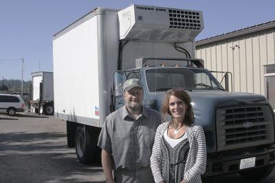 Vets on Farm refrigerated truck